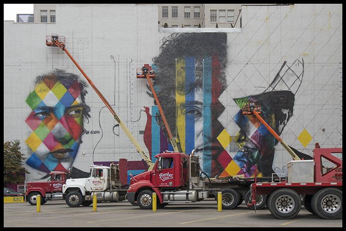 Bob Dylan mural
