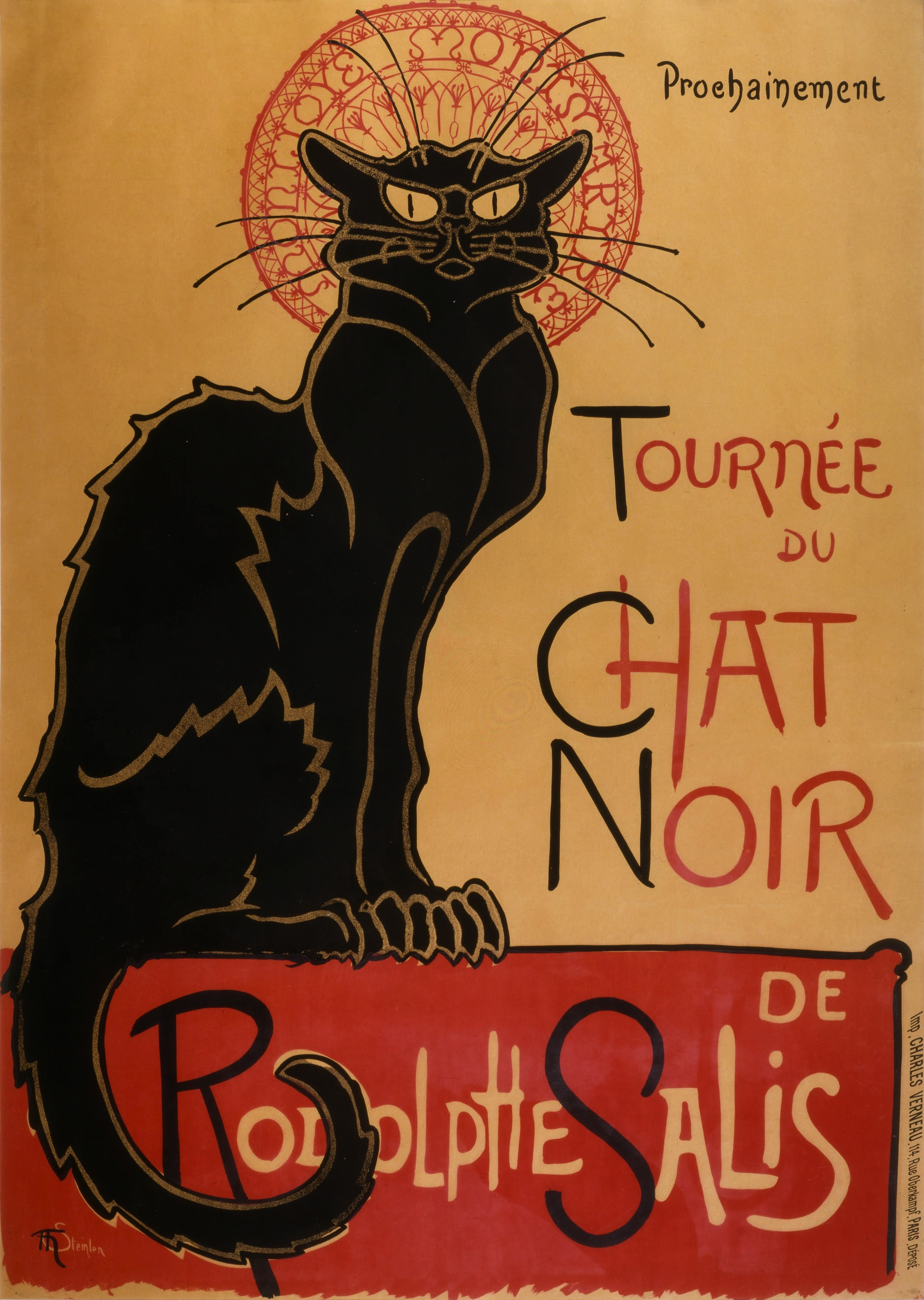 Théophile-Alexandre_Steinlen_-_Tournée_du_Chat_Noir_de_Rodolphe_Salis_(Tour_of_Rodolphe_Salis'_Chat_Noir)_-_Google_Art_Project (from Mousebook)