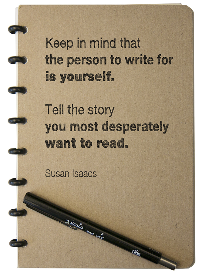 Susan Issacs quote BLOG