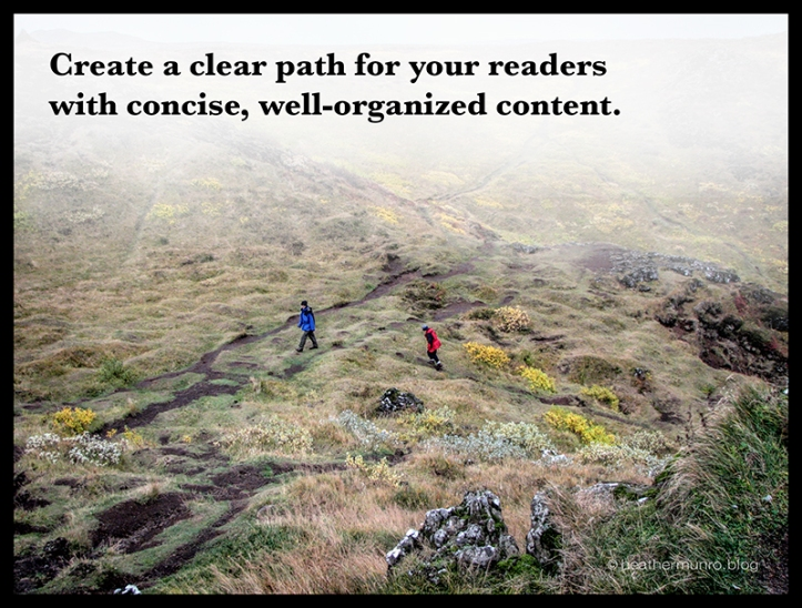 Create clear path BLOG