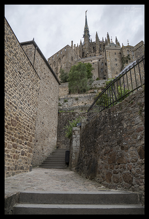 Mont St Michel stairs 1490264 BLOG