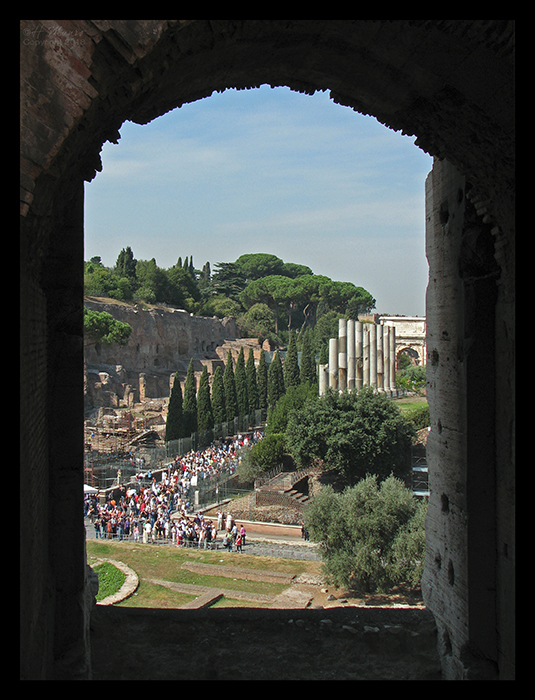 Rome Palatine from Colo CC BLOG