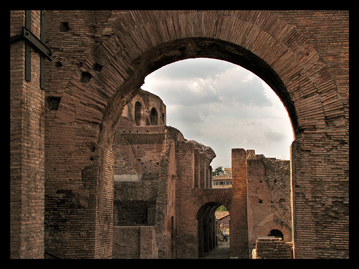 Rome Palatine arch CC BLOG