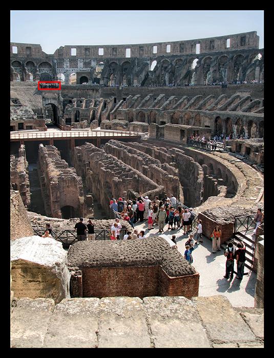 Rome Colosseum tunnels CC CL BLOG
