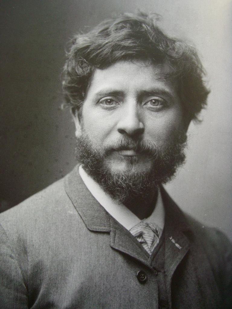 Jean-Joseph Carriès. by Nadar