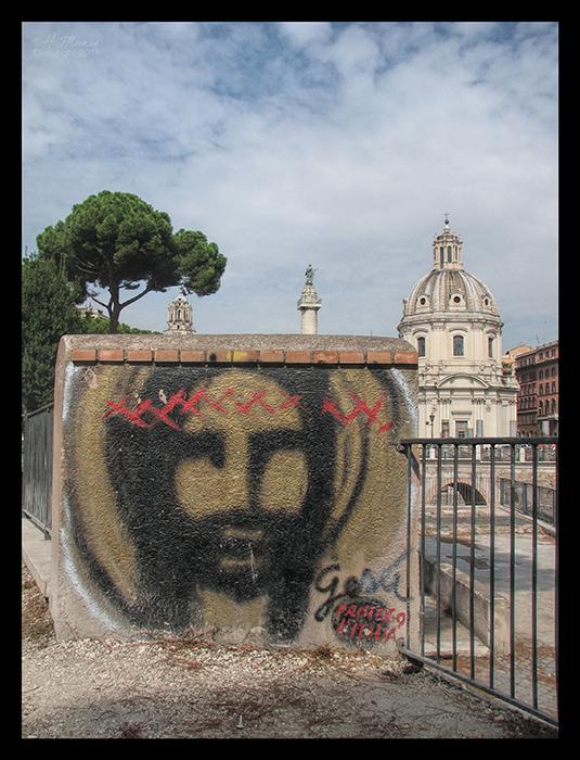 Rome basilica with Jesus CL BLOG