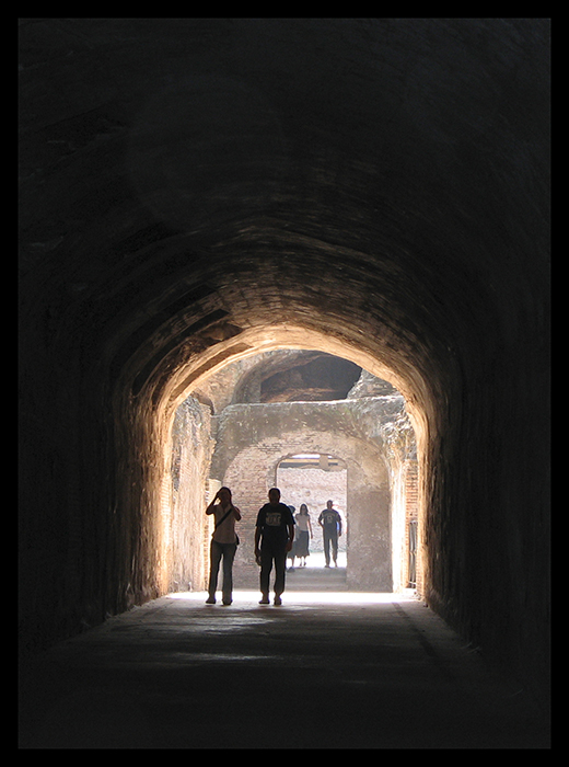 Rome Palatine tunnel BLOG