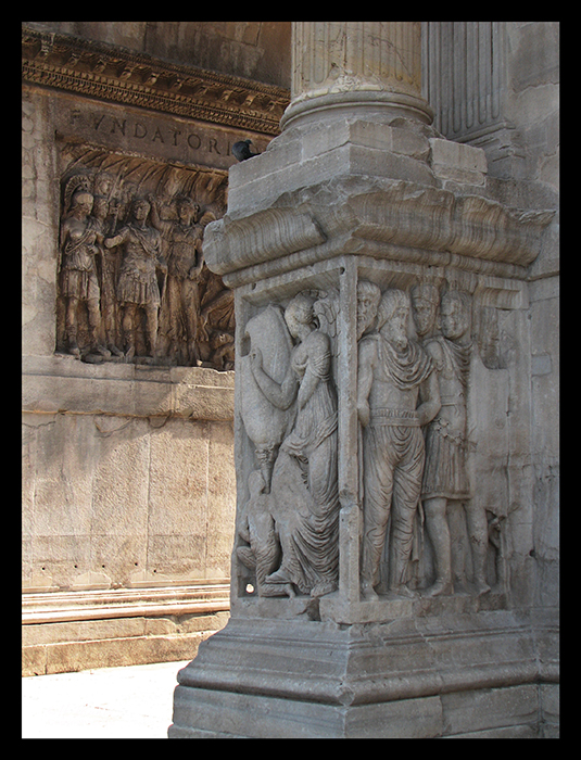 Rome Constantine column detail BLOG