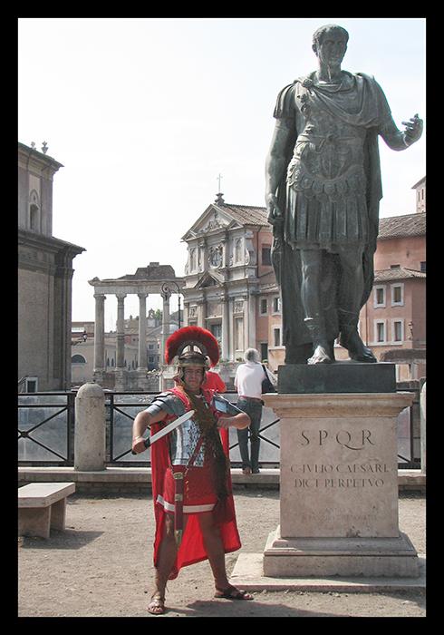 Rome psedogladiator BLOG