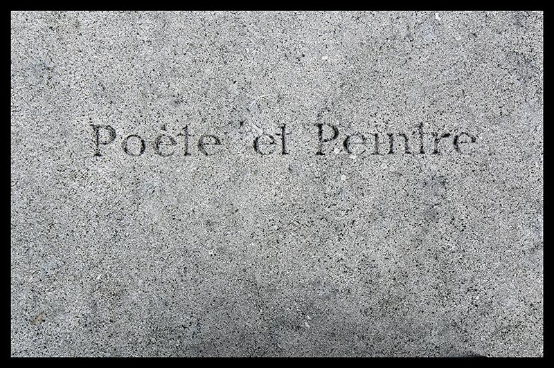 Poète et Peintre Père achaise 1370293 BLOG