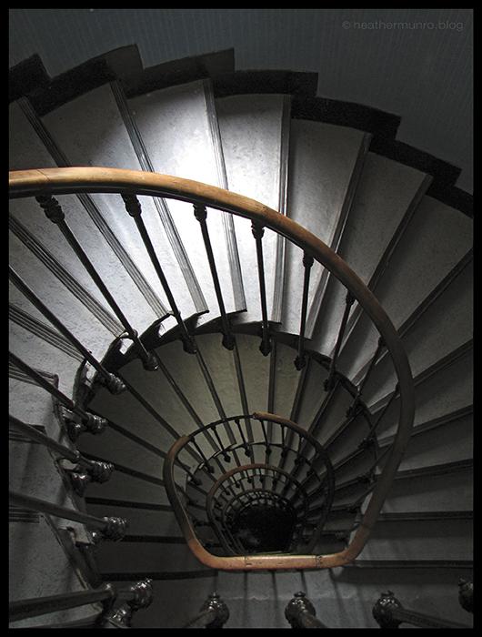 Paris hotel stairs BLOG