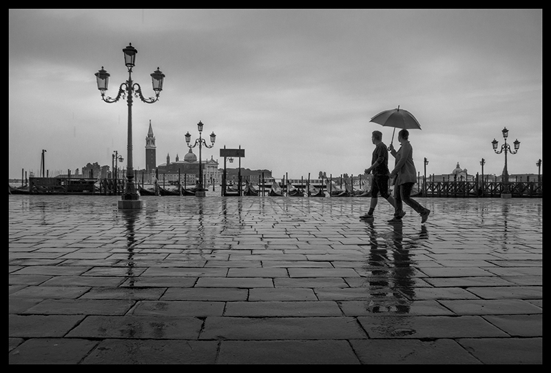 San Marco in rain 1570293 BW BLOG